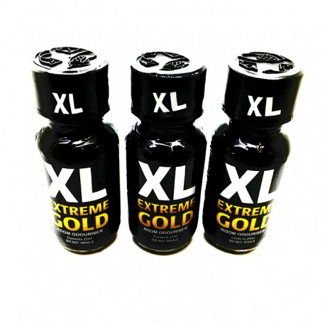 XL EXTREME GOLD x 3